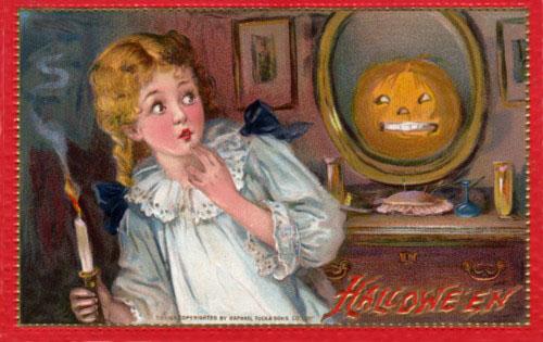 Ilustraciones retro Halloween 15