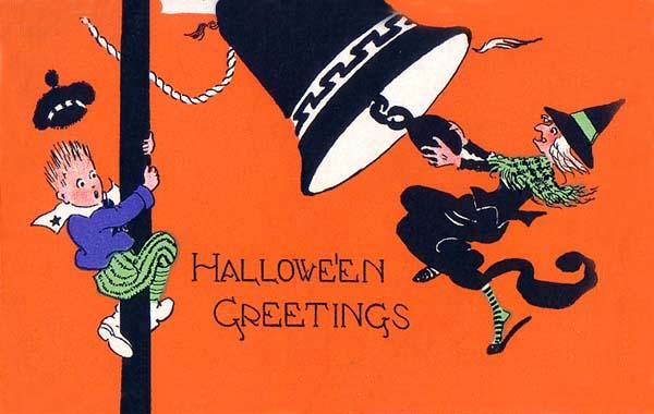 Ilustraciones retro Halloween 16