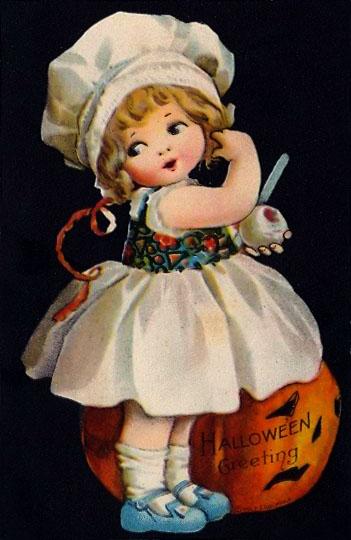 Ilustraciones retro Halloween 17