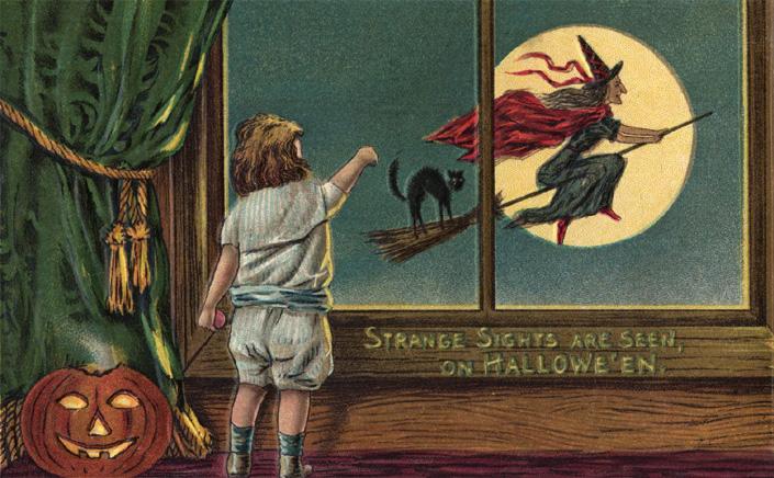 Ilustraciones retro Halloween 18