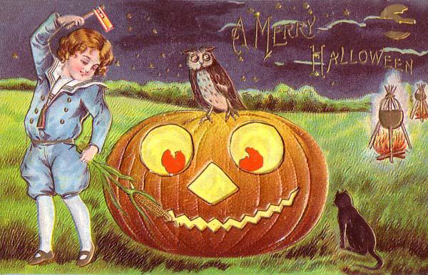 Ilustraciones retro Halloween 20