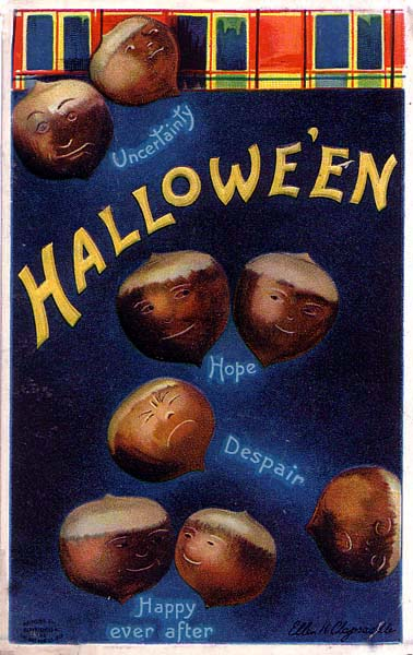 Ilustraciones retro Halloween 23