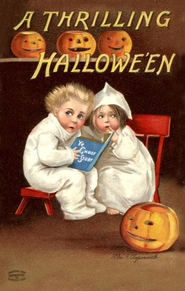 Ilustraciones retro Halloween 25