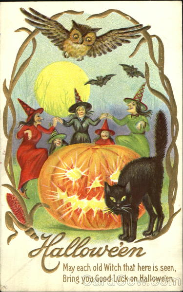 Ilustraciones retro Halloween 27
