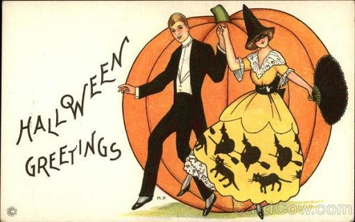 Ilustraciones retro Halloween 32