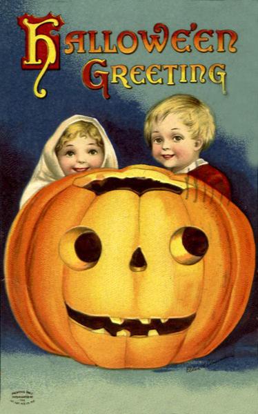 Ilustraciones retro Halloween 33