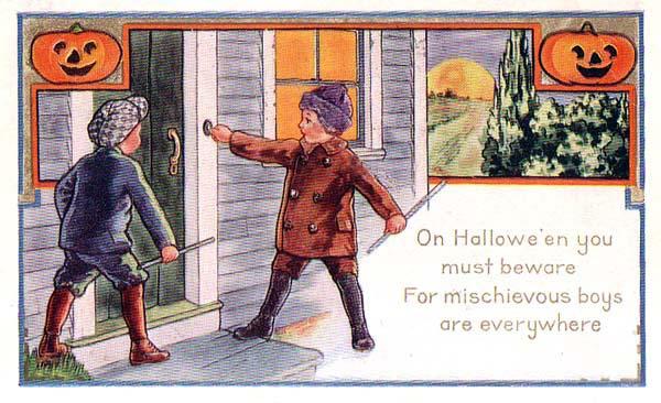 Ilustraciones retro Halloween 37