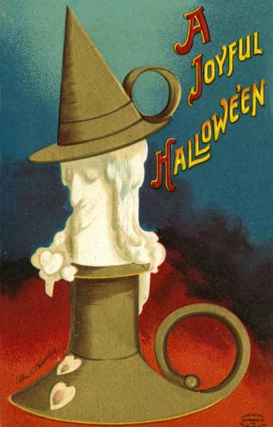 Ilustraciones retro Halloween 39