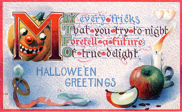 Ilustraciones retro Halloween 40
