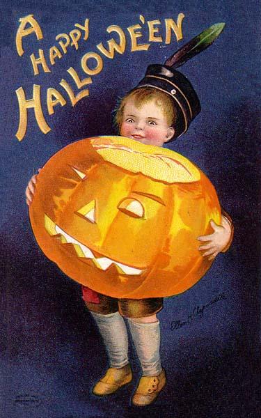 Ilustraciones retro Halloween 41