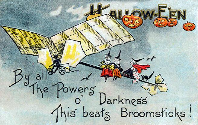 Ilustraciones retro Halloween 50