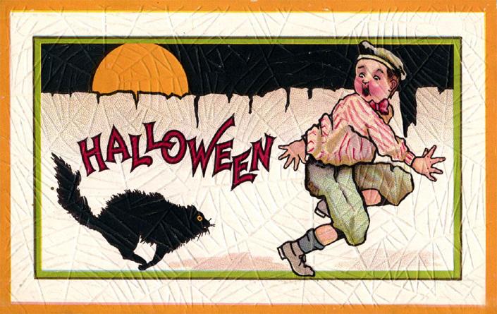 Postales retro Halloween 01
