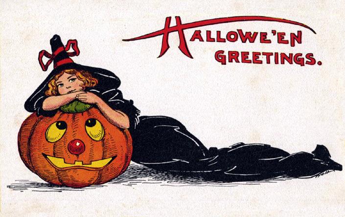 Postales retro Halloween 02
