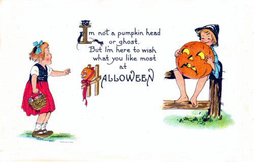 Postales retro Halloween 05