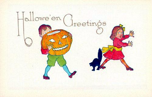 Postales retro Halloween 06