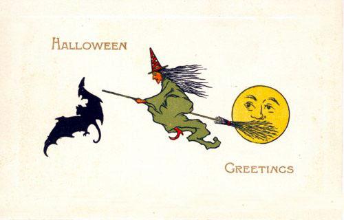 Postales retro Halloween 07
