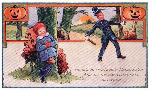 Postales retro Halloween 09