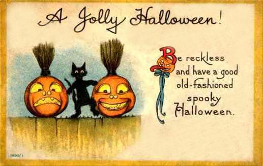 Postales retro Halloween 11