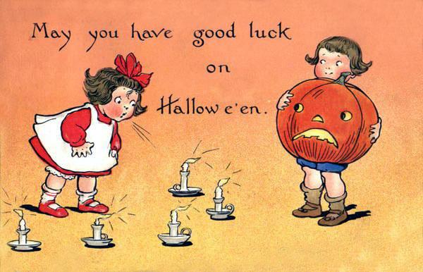 Postales retro Halloween 16