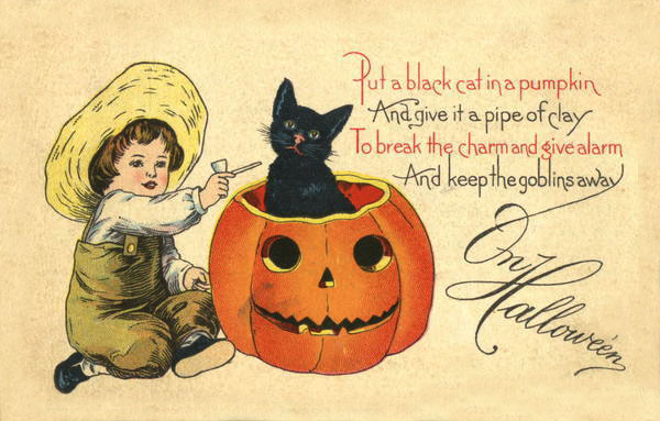 Postales retro Halloween 20