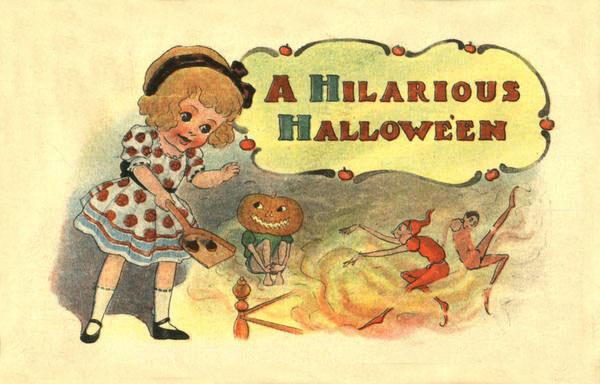 Postales retro Halloween 21