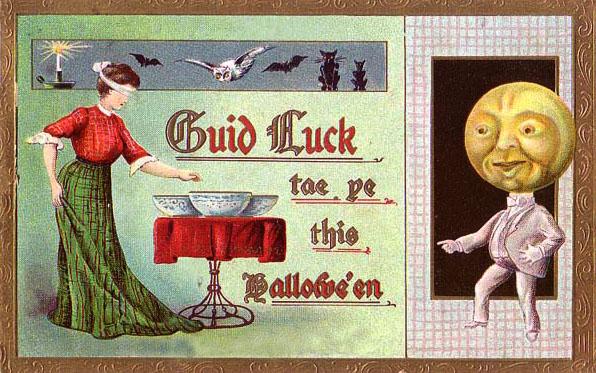 Postales retro Halloween 25