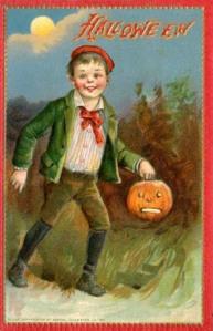 Postales retro Halloween 26