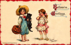 Postales retro Halloween 32