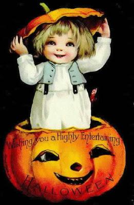 Postales retro Halloween 37