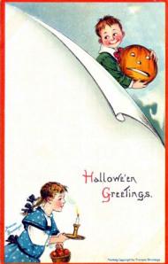 Postales retro Halloween 39