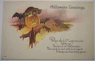 Postales retro Halloween 41