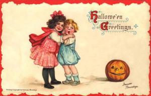 Postales retro Halloween 43