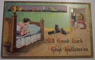 Postales retro Halloween 49