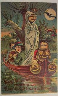 Postales retro Halloween 54