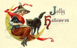 Postales retro Halloween 56