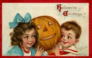 Postales retro Halloween 57
