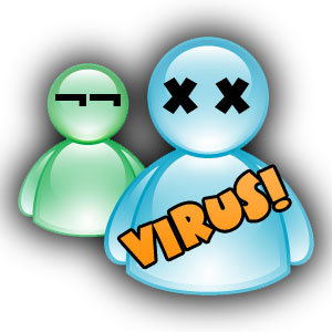 Tus virus del messenger me saludan con mas frecuencia que tu