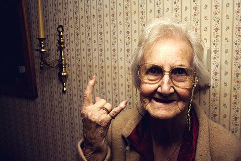 abuela cuernos