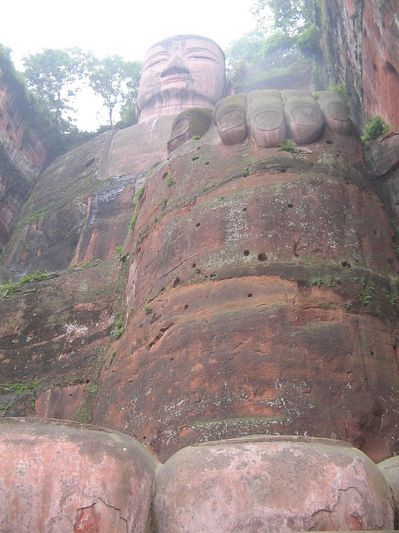 buda leshan china estatua gigante