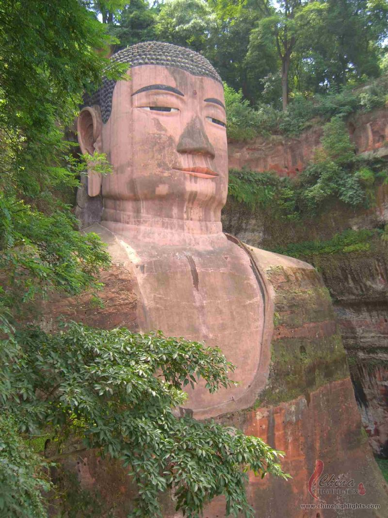 Leshan China  city pictures gallery : buda leshan china vegetacion