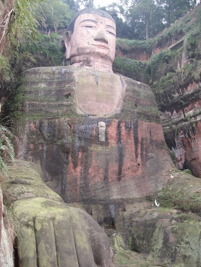 buda leshan sichuan china estatua mas grande
