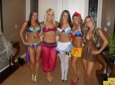chicas disfrazadas halloween 12