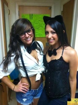 chicas disfrazadas halloween 15