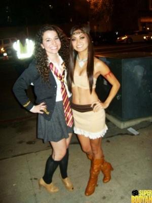 chicas disfrazadas halloween 25