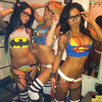 chicas disfrazadas halloween 37