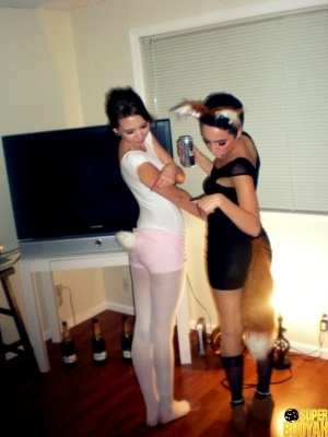 chicas disfrazadas halloween 40