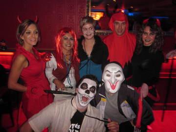 fiesta disfraces halloween