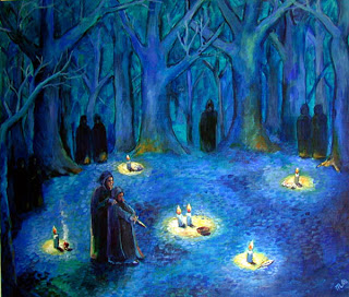halloween druidas