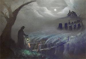 halloween miedo puente