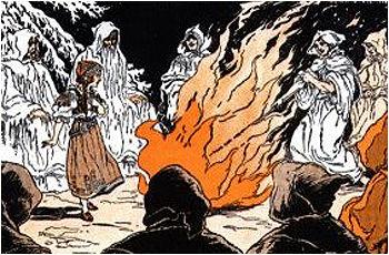 halloween samhain fuego
